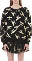 Boy London Gold-toned motif sweatshirt
