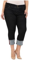 KUT from the Kloth Plus Size Cameron Straight Leg Jeans