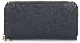 Bulgari Zip-Around Closure Wallet