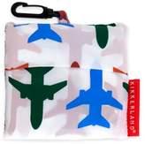 Kikkerland Design Airplane Travel Laundry Bag in White
