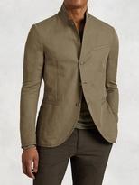 John Varvatos Lightweight Cotton Linen Jacket