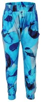 Munster Whale Print Drop Crotch Trousers