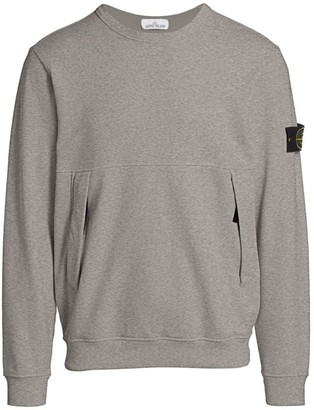 Stone Island Fleece Crew Sweater
