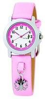 Cactus Gift Set Charm Bracelet & Pink Strap Girls Fashion Watch CAC-44-L05
