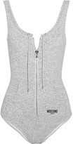 Moschino Stretch-jersey Swimsuit - Gray
