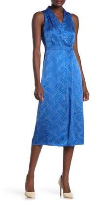 Equipment Katherine Sleeveless Silk Dress