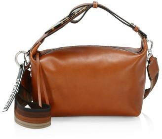 Ganni Leather Hobo Bag