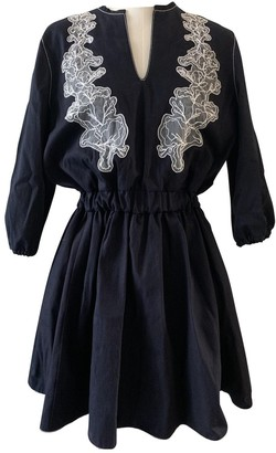 Francesco Scognamiglio Blue Cotton Dress for Women