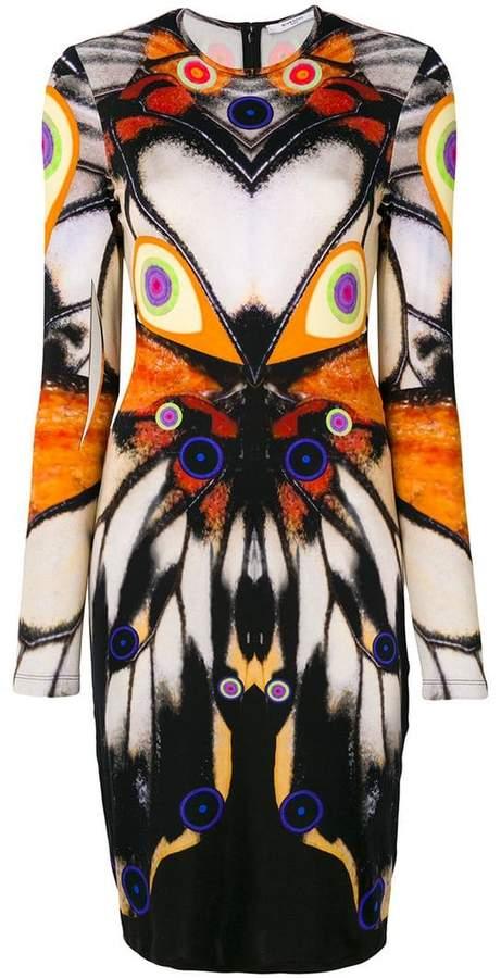 Givenchy symmetric butterfly dress