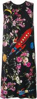 Dolce & Gabbana space print dress