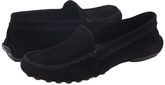 French Sole Stella (Black Suede) Women's Slip on Shoes