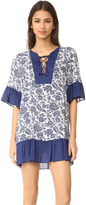 Parker Beach Beaded Cascade Combo Cover Up
