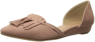 Chinese Laundry Women's Seline Pointed Toe D'orsay Flat