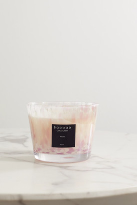Baobab Collection White Pearls Scented Candle, 1.35kg - Cream
