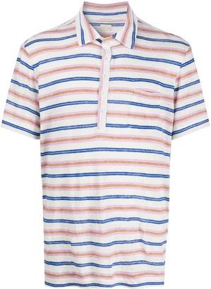 Massimo Alba Striped Polo Shirt
