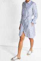 Kenzo Embroidered Cotton Shirt Dress