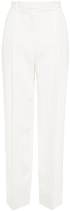 The Row Pica Pleated Cady Straight-leg Pants