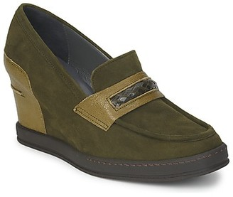 Stephane Kelian GARA women's Loafers / Casual Shoes in Green