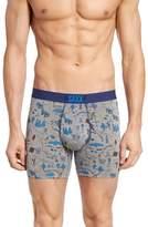 Saxx Men's Vibe Lost Lake Stretch Boxer Briefs