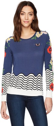 Desigual Women's All by myselft Sweater