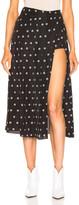 Sandy Liang Uniform Skort in Dalmatian   FWRD