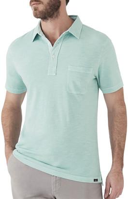 Faherty Men's Sunwashed Short-Sleeve Polo Shirt with Pocket