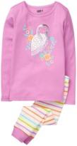 Crazy 8 Owl 2-Piece Pajama Set