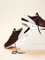 New Balance 696 Re-Engineered Polka Dot Trainer by at Free People