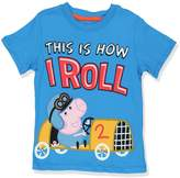 "Nickelodeon Peppa Pig Little Boys' Toddler ""This Is How I Roll"" T-Shirt"