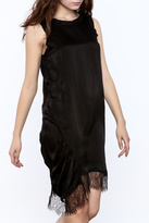 Clu Black Silk Dress