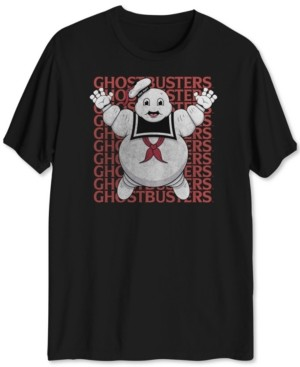 Hybrid Ghostbusters Men's Graphic T-Shirt