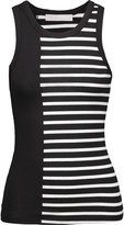 Kain Label Holland striped stretch-jersey tank