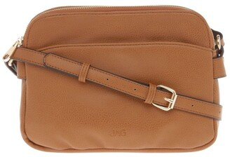 Jag Jessie Zip-Top Tan Crossbody Bag