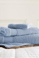 Amrapur 3-Piece Turkish Cotton Towel Set - Denim