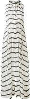 IRO striped drawstring dress