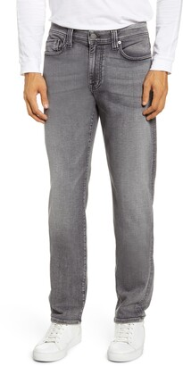 Fidelity Jimmy Slim Straight Leg Knit Jeans