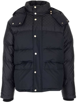 Gucci GG Panelled Padded Jacket