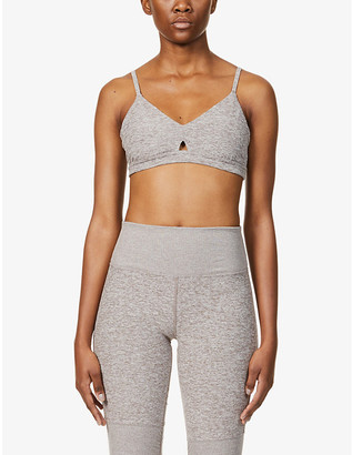 Alo Yoga Alosoft Lounge stretch-jersey sports bra