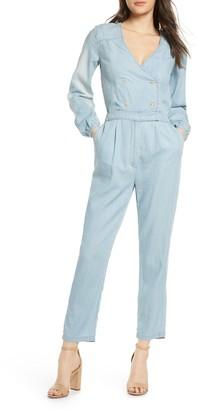 Ali & Jay Surfrider Long Sleeve Chambray Jumpsuit