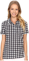 Lacoste Short Sleeve Gingham Polo