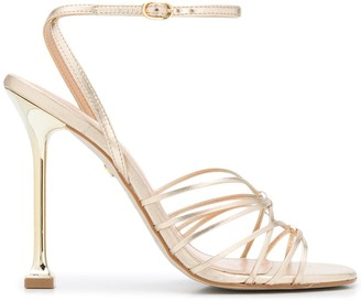 Carvela Glowing fluted heel sandals