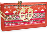 Tory Burch Embroidered Reva Clutch