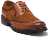 English Laundry Ashbourne Leather & Suede Wingtip Derby