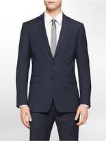 Calvin Klein Body Slim Fit Navy Ministripe Suit Jacket