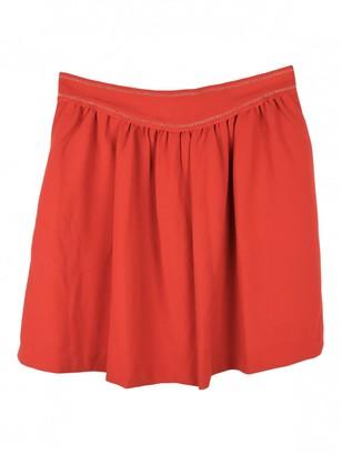 Isabel Marant Orange Synthetic Skirts