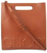 Gucci Embossed Leather Tote