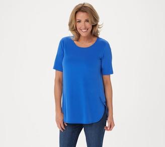 Susan Graver Modern Essentials Liquid Knit Tunic