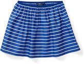 Ralph Lauren 7-16 Striped Poplin Pull-On Skirt