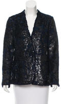 By Malene Birger Distressed Sequin Blazer w/ Tags