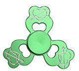 Hatop Hand Spinner, NEW Alloy Hand Spinner Fidget Focus Toy EDC Finger Spin Gyro ADHD Autism for Kids and Adults (Green)